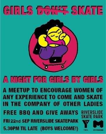 Girls Skate Night