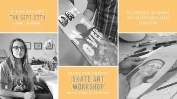 Deck for Change Art Workshop