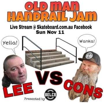 Old Man Handrail Jam