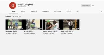 Geoff Campbell Youtube