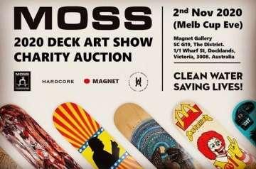 MOSS Deck Art Show