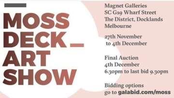Moss Deck Art Show 2020