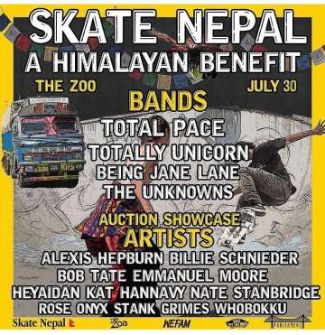 Skate Nepal Benefit