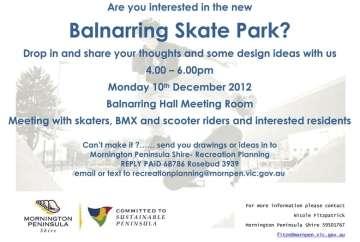 Balnarring Skatepark Consultation