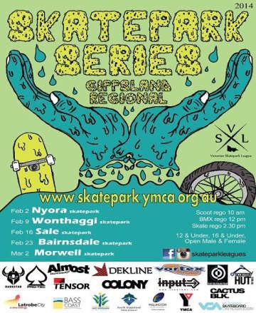 Gippsland Skatepark Series