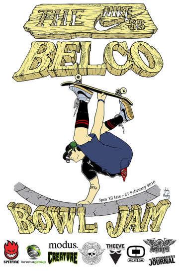 NIKE SB Belco Bowl Jam 2010