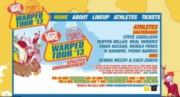 Vans Warped Tour Vert Demos