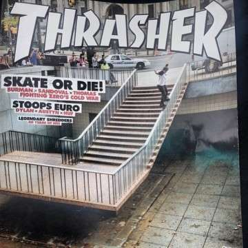 Burmans Thrasher Cover.