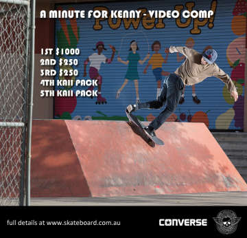 A MINUTE FOR KENNY - VIDEO COMP