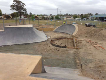Kurri Kurri new park progress pics