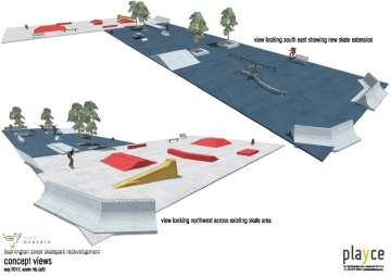 RE: Reservoir Skate Pak - renovations