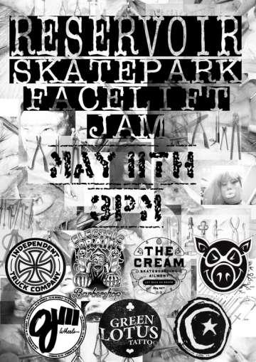 RE: Reservoir Skate Jam this Saturday!