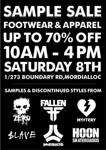Blackbox Sample Sale