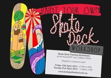 Skate Deck Painting Workshop - FREE!!