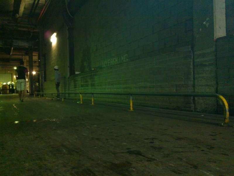Hyperdome Underground Loading Zone Rail