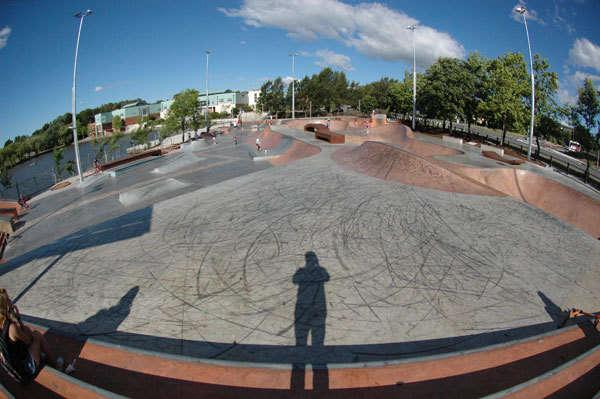 Belconnen New Skate Park