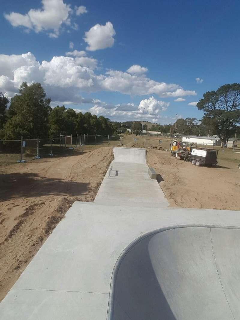 Gunning New Skatepark