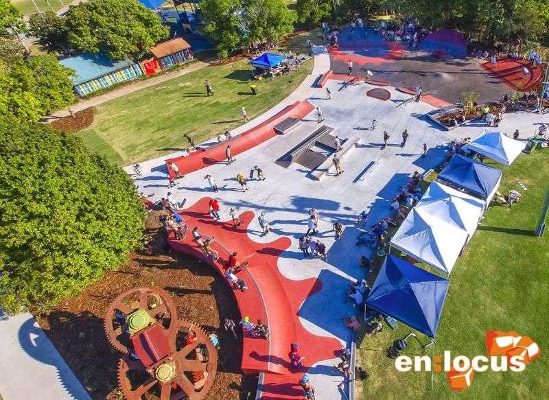 Nambour New  Skatepark
