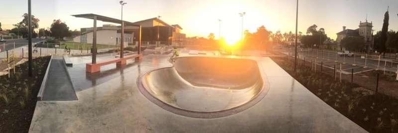 St Clair Skatepark