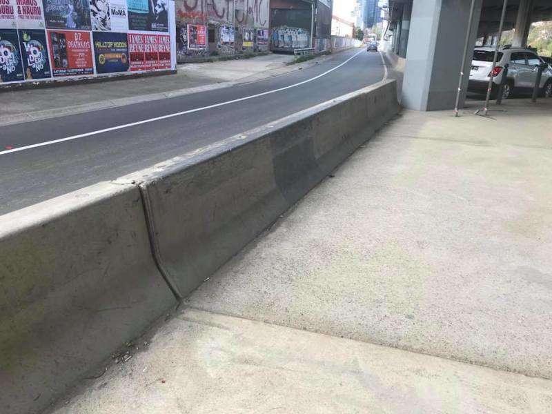 Underpass Barrier