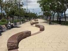 San Pedro curve ledges