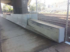 Barrier to Ledge