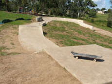 Basin Pocket Skate Track