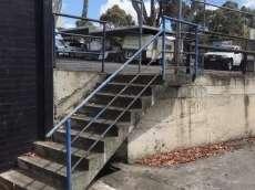 Moreland Rd Overrail