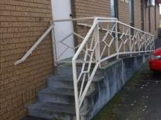 Jesus wheelchair ramp