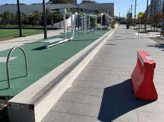 Green Square Long Ledge
