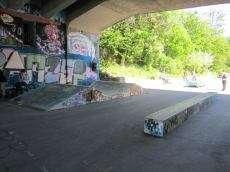 Kornhausbrucke Skatepark