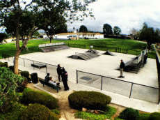 Lands Park Skatepark (CLOSED)