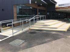 Netball Stairs