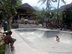 Lombok Surf Camp Bowl