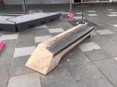 Nicholson St Mall Benches