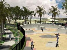 Park De La Cruz Skatepark