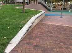 Salisbury Civic Square Ledges